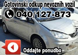 odkup nevoznih vozil 040/127-873